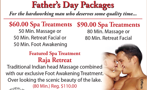 Fathers Day Specials View Flyer